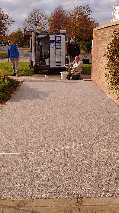 Resin bonded dives and paths Fareham