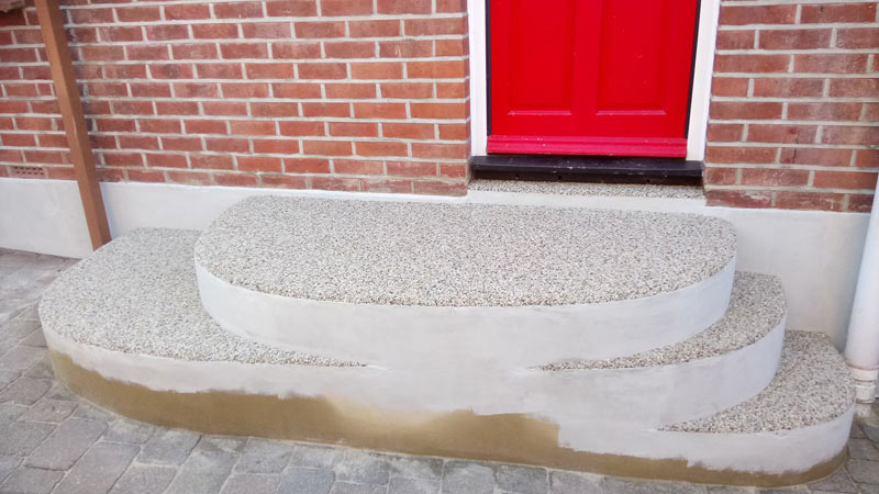 Resin bonded dives and paths Havant