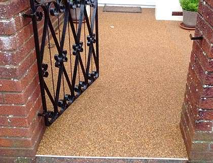 resin bonded pathway in Waterlooville, West Sussex