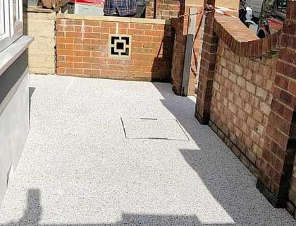 resin bonded pathway in Bishop's Waltham, Hants